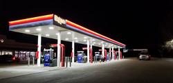 Exxon Nighttime
