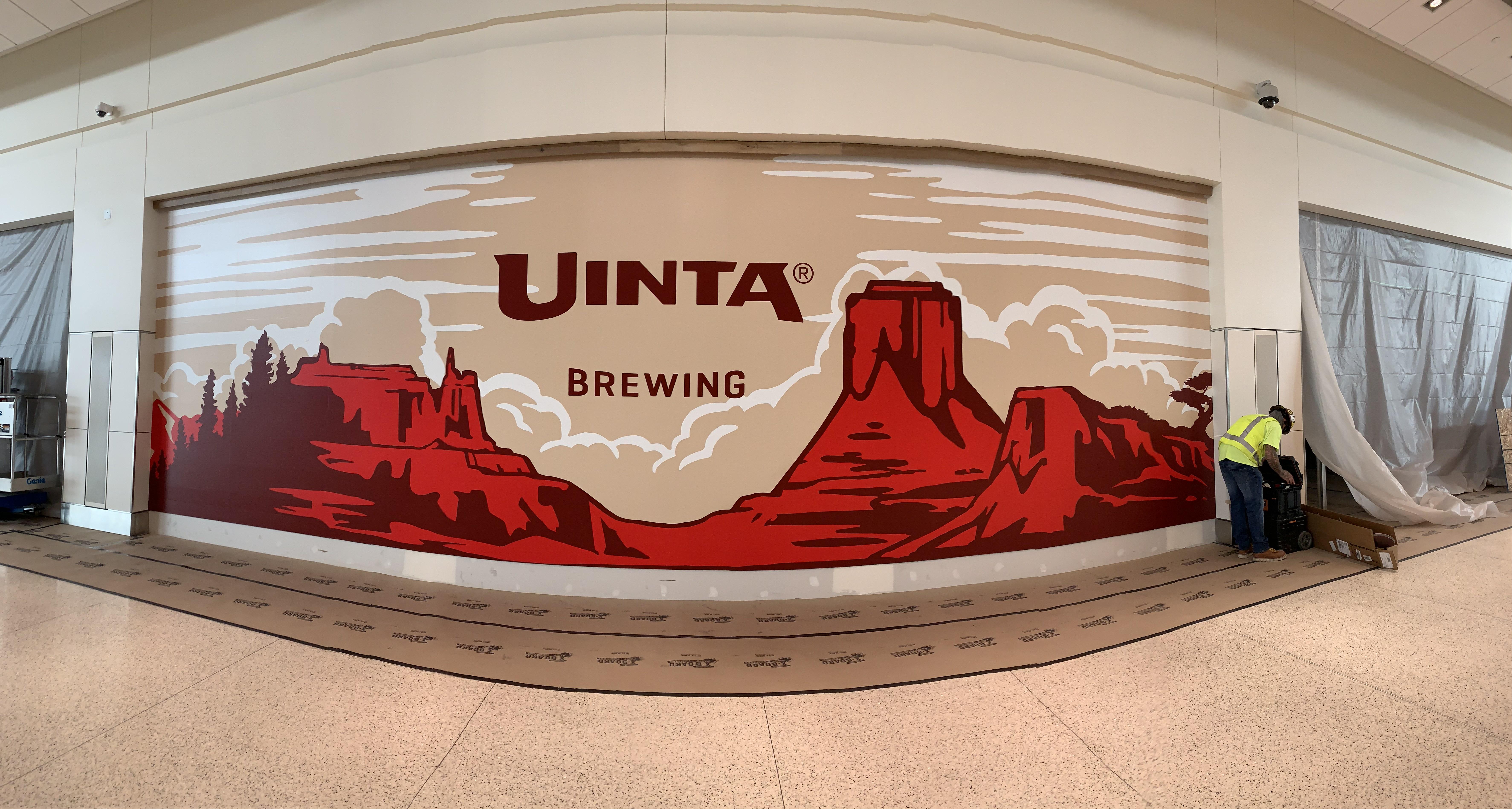 Unita Airport Mural