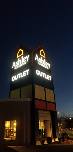 Ashley Sign Night