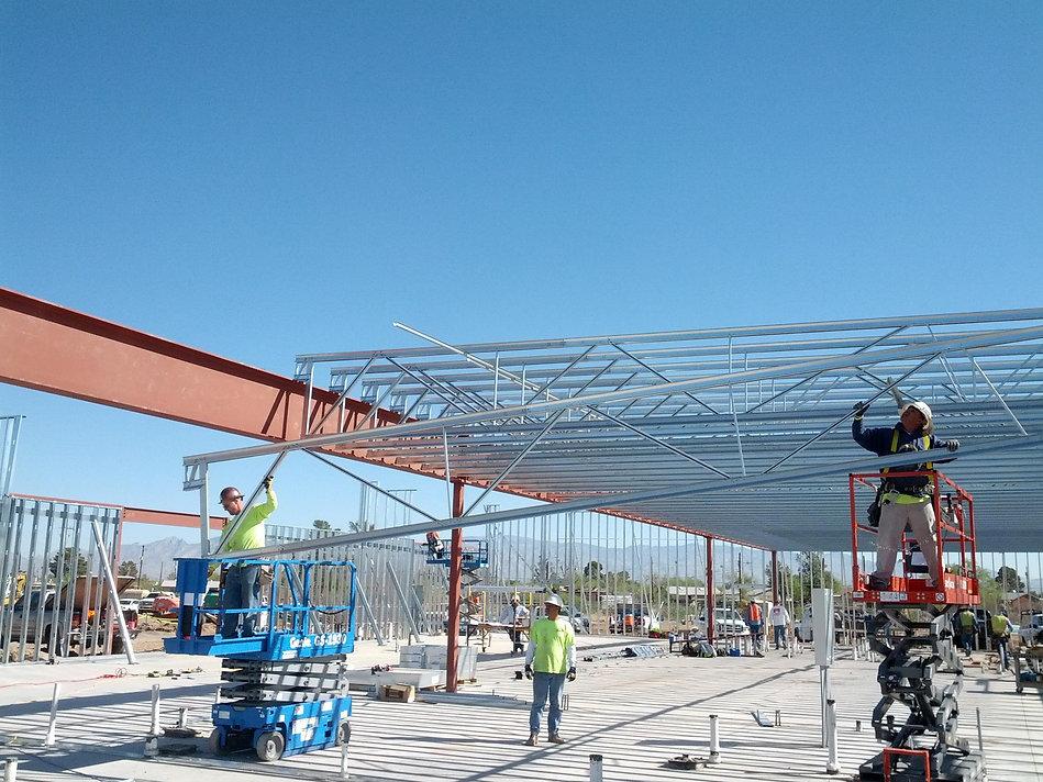 Commerical Metal Framing Tucson