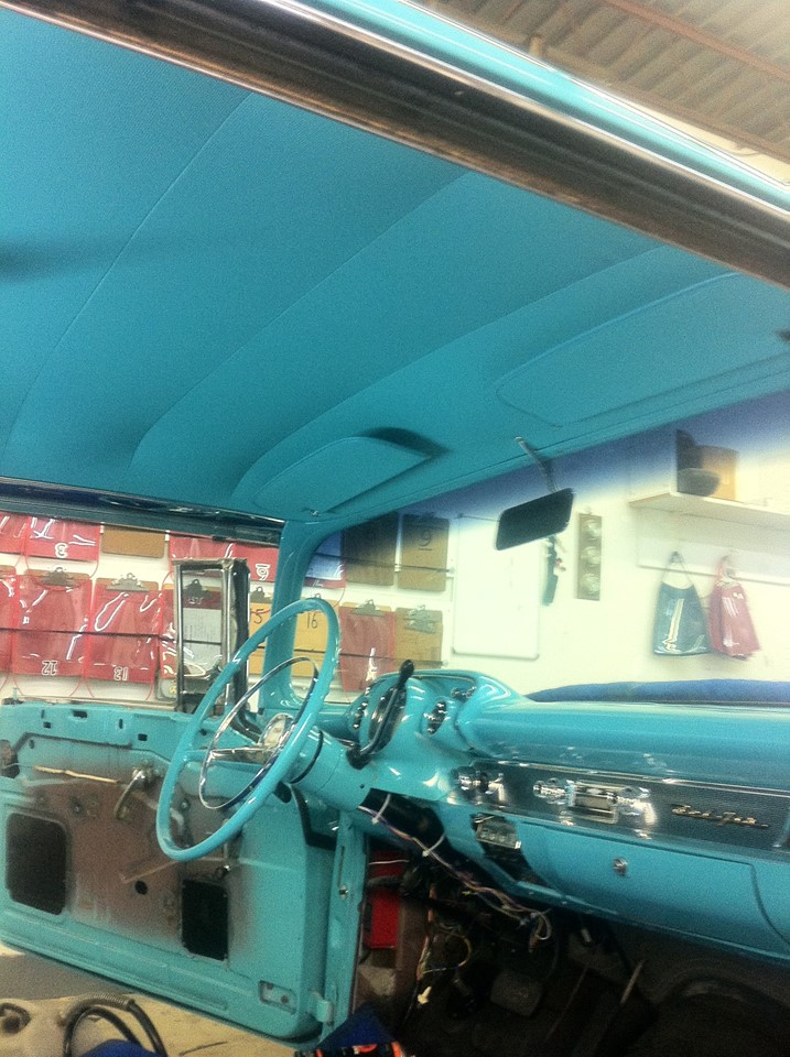 Chevy interior