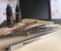 Ketna Butron Microblading - PhiBrows tools for feathering and micropigmentation
