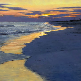 Sunset Over Low Tide