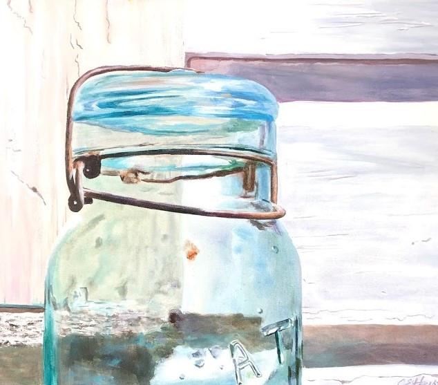 Summer Mason Jar