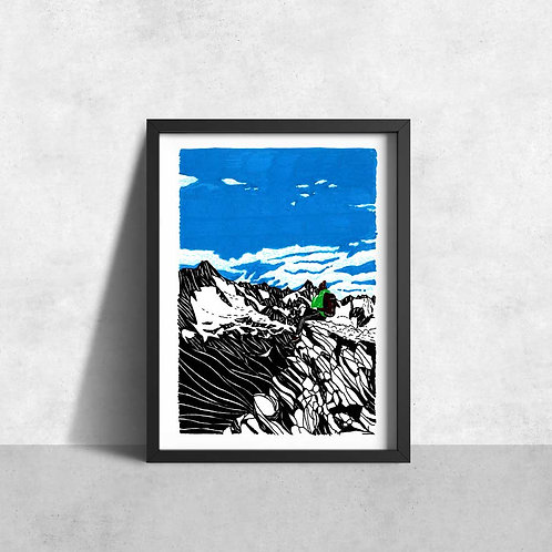 Switzerland mountain top