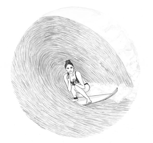 Outdoor-postcards-surf-illustration-surf