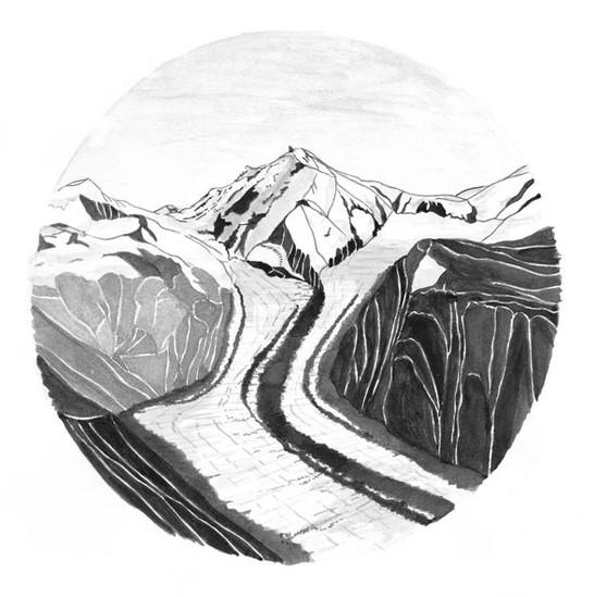 Outdoor-postcards-mountain-illustration-
