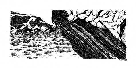 Climbing-drawing-lucid-dreaming-Bishop-B
