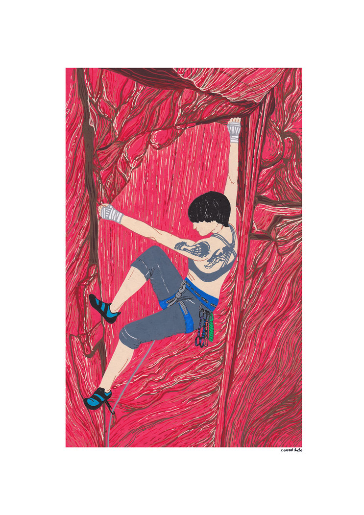 Climbing-drawing-Layback.jpg