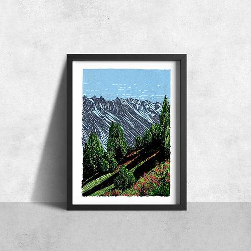 Chamonix forest