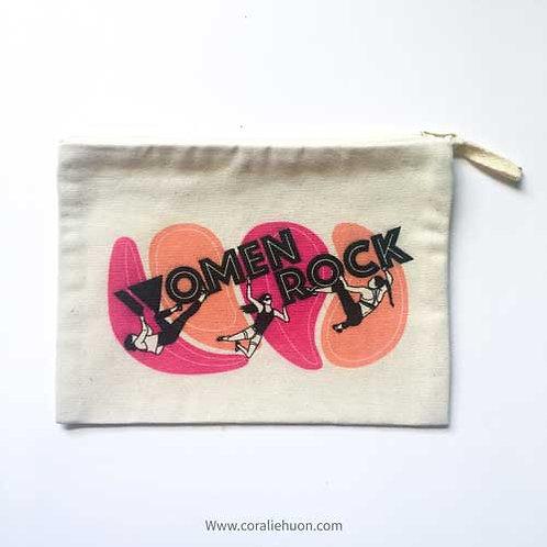 Women rock pouch