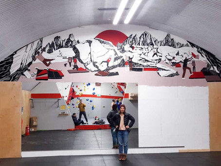 Behind the scenes of the BethwallGreen Mural