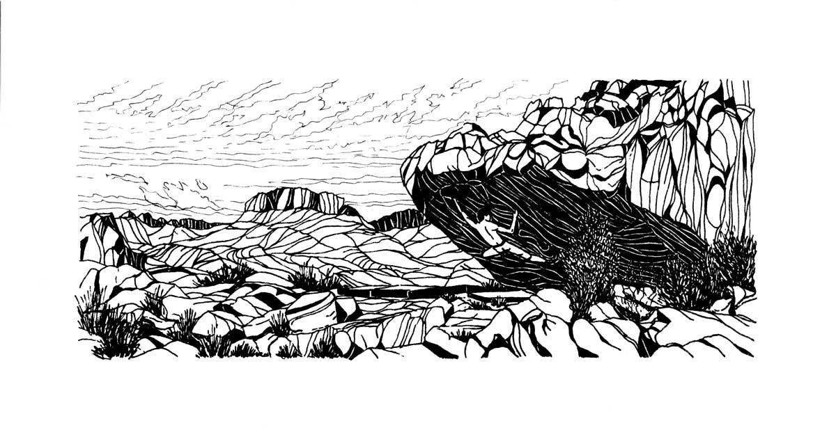 Climbing-drawing-rocklands-bouldering.jp