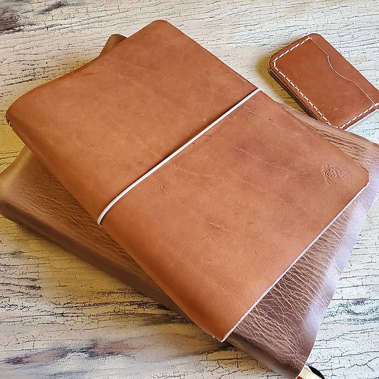 Edwards Journal in Copper Legend Leather