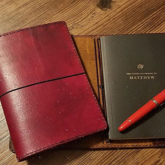 The Student  (as seen with ESV Scripture Journal)