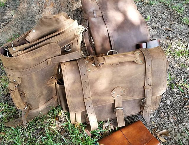 Messenger Bag in Tobacco