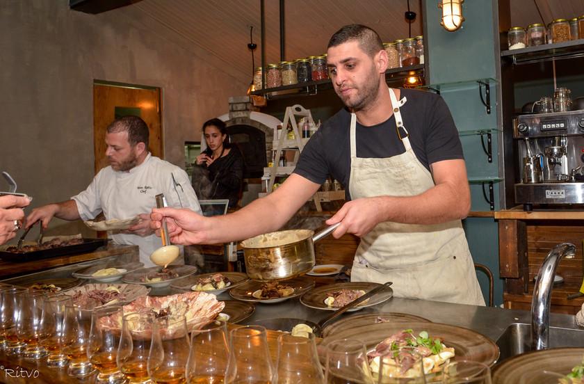 ארוחות שף בצפון | סטודיו אוכל - בית ליצירה קולינרית בגליל