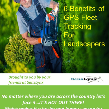 6 Benefits of GPS Fleet Tracking for Landscape Companies
