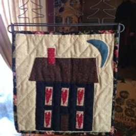 Home Sweet Home Table Stand Mini Quilt pattern