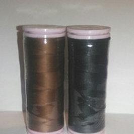 Black & Brown thread pack