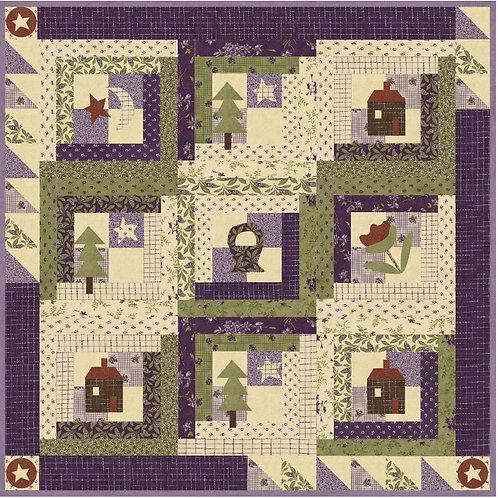 Home Sweet Log Cabin Home Pattern