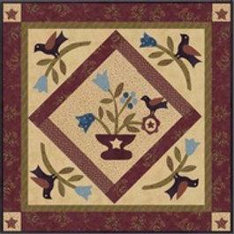 Bird & Urn Quilt Kit