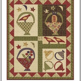 Birds, Berries, and Baskets pattern