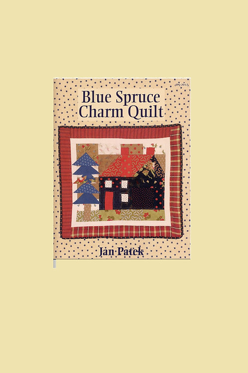 Blue Spruce Charm Quilt