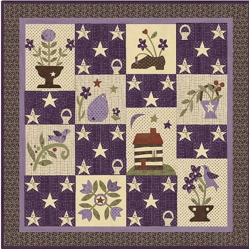 Little House In The Big Garden BOM Pattern