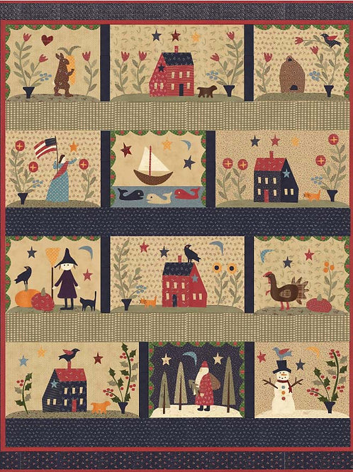 Over the Meadow and Through the Year BOM Pattern