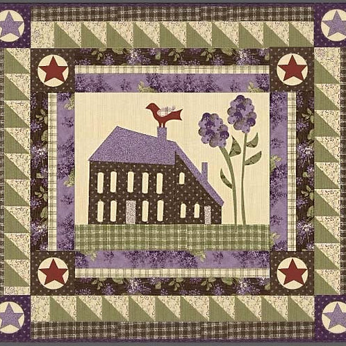 Linda's Lilacs Quilt Kit