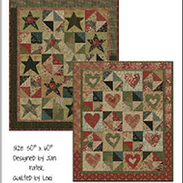 Lilly's Hearts and Stars pattern