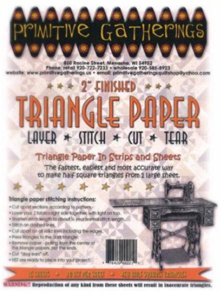 """2"""" Half Square Triangle Paper"""