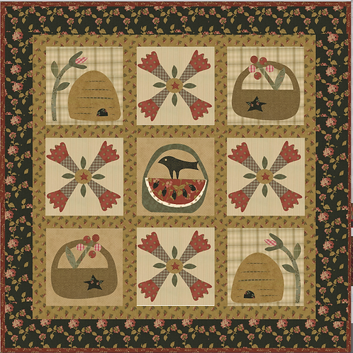 Garden Kisses & Hugs pattern