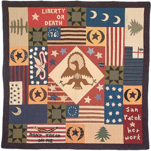 Flags of American Revolution BOM Pattern