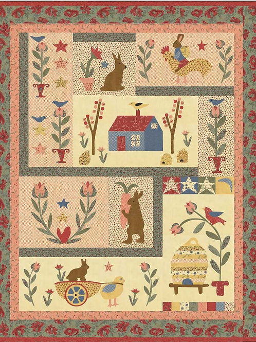 Birds & Bunnies BOM Pattern
