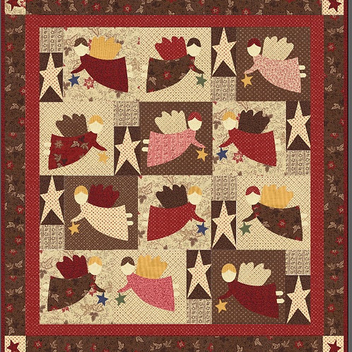 Friends Are Made In Heaven 2 Quilt Kit
