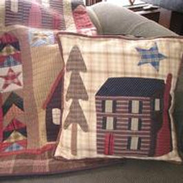 Cabin In The Pines pillow kit