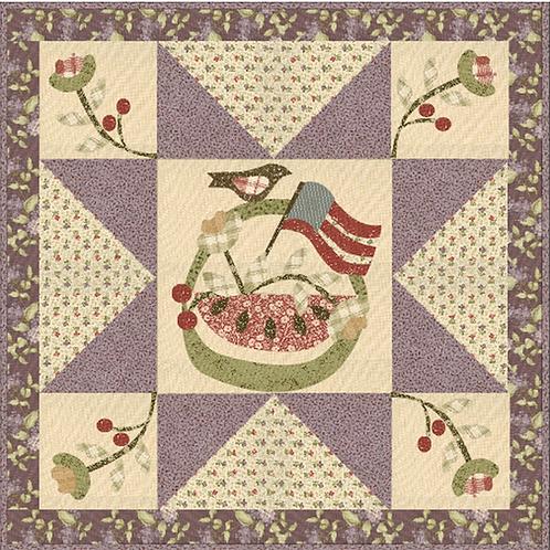 Summer in a Basket pattern