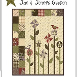 Jan & Jenny's Garden pattern