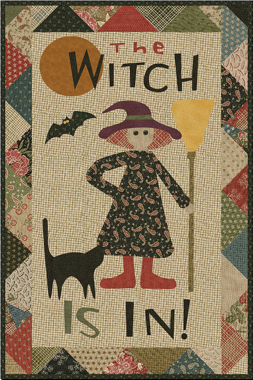 The Witch Is In pattern