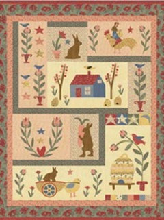 Birds & Bunnies Quilt Kit