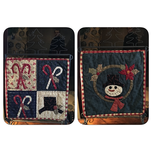 Snowman Wreath kit