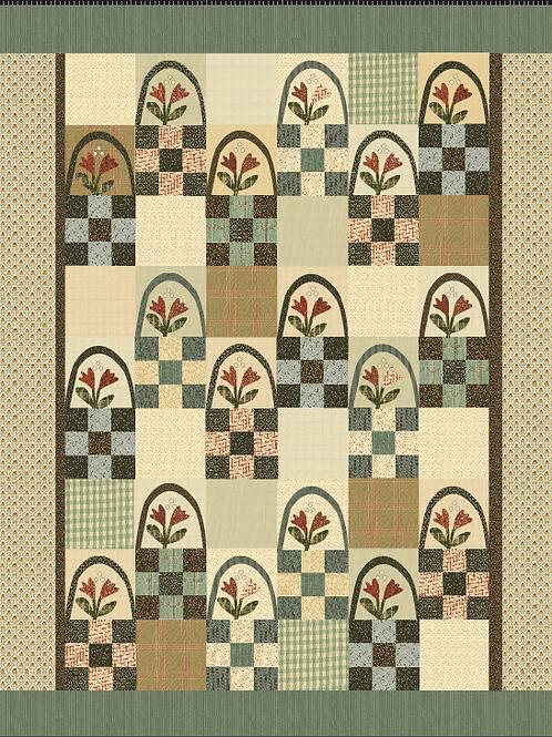 Basket Patch pattern