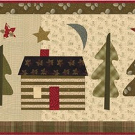 Little Cabin in the Big Woods pattern