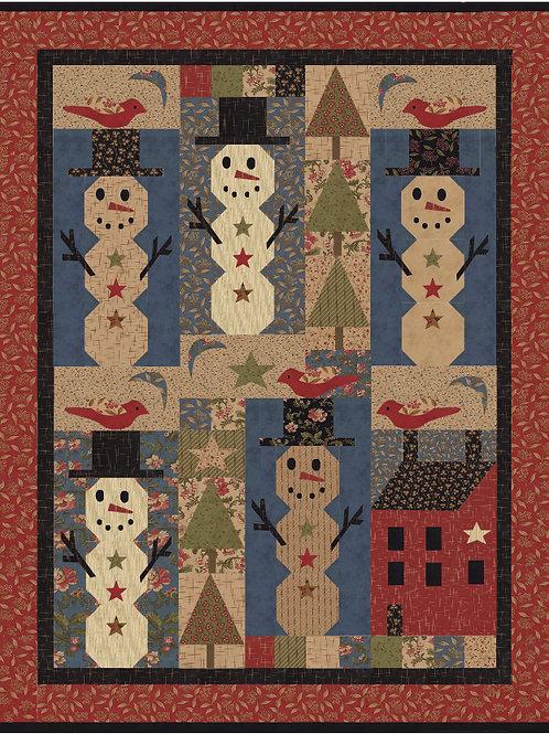 Let It Snow Pattern - D