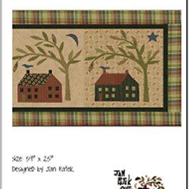 House & Tree pattern