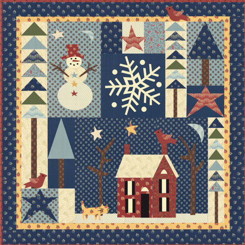 Winter Wonderland BOM Pattern