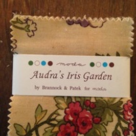 Audra's Iris Garden mini charm