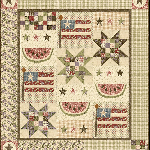 Watermelon Days pattern